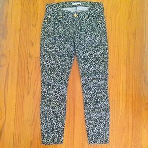 7 For All Mankind Printed Stretch Jeans / Cords